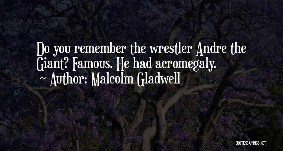 Best Wrestler Quotes By Malcolm Gladwell