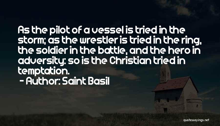 Best Wrestler Quotes By Saint Basil