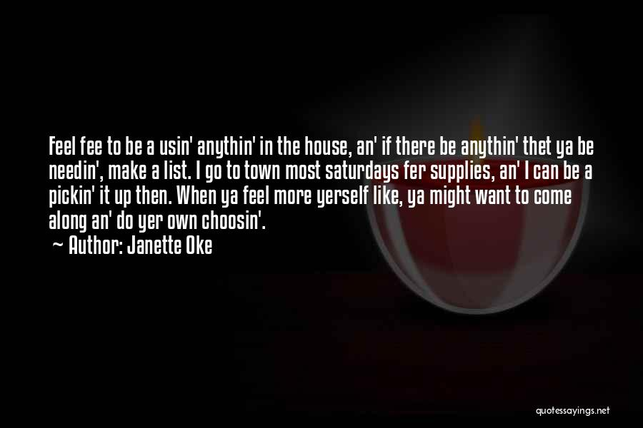 Best Ya Love Quotes By Janette Oke