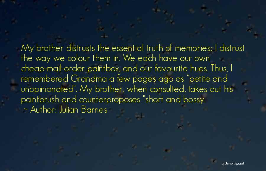 Best You Got Mail Quotes By Julian Barnes