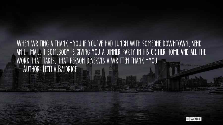 Best You Got Mail Quotes By Letitia Baldrige