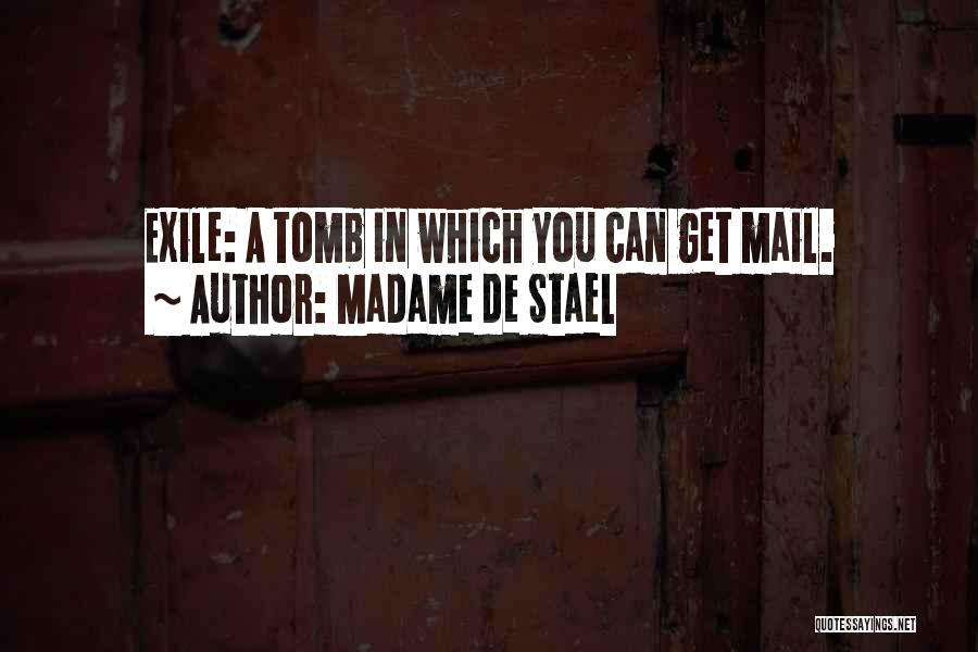 Best You Got Mail Quotes By Madame De Stael