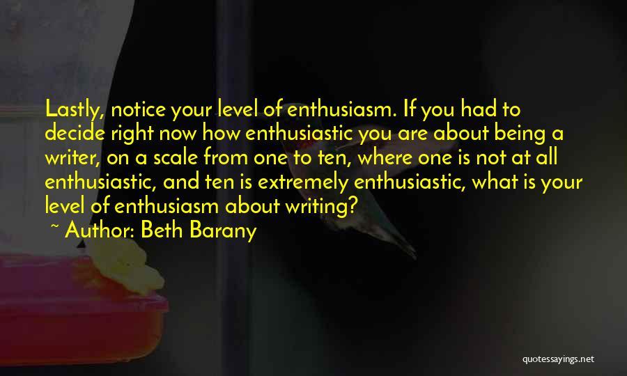 Beth Barany Quotes 1343938