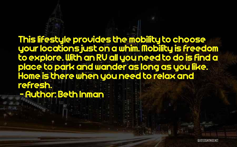 Beth Inman Quotes 1063533