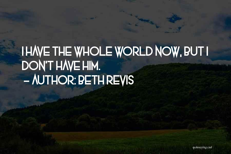 Beth Revis Quotes 1183937