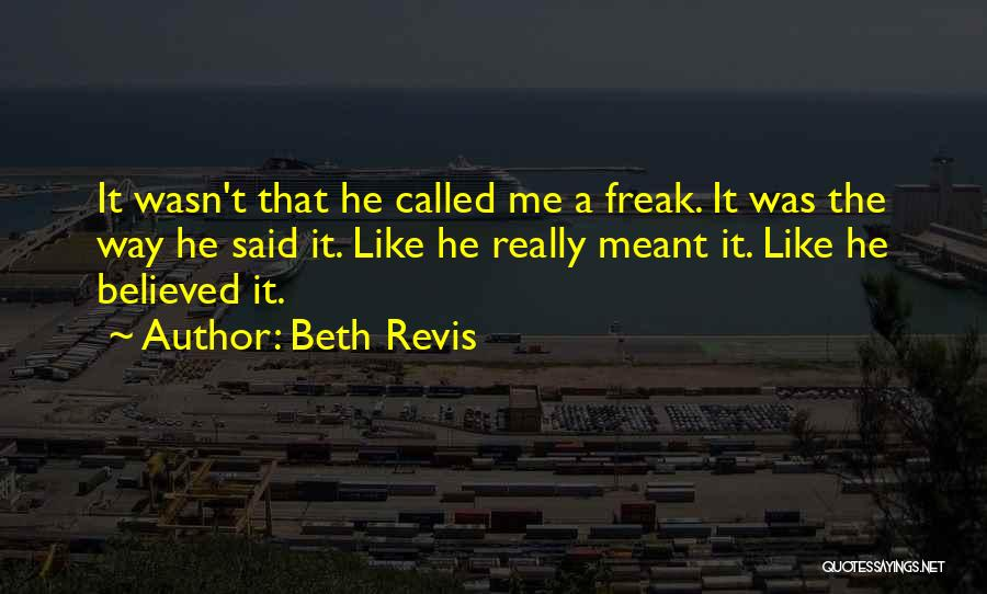 Beth Revis Quotes 1509790