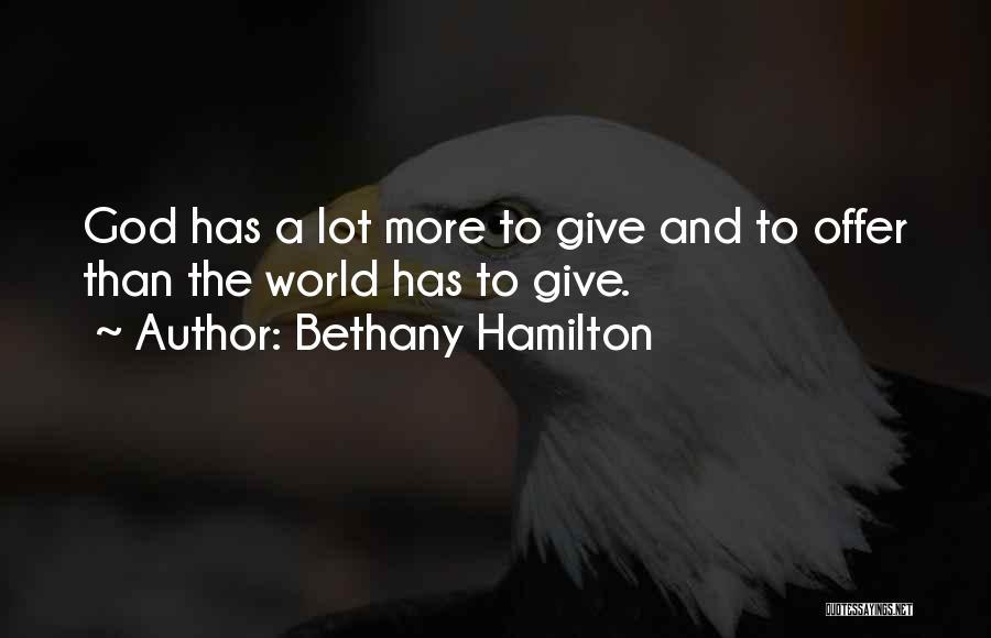 Bethany Hamilton Quotes 153410