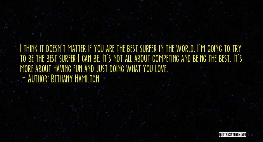 Bethany Hamilton Quotes 1667077