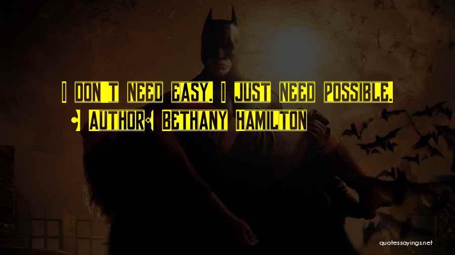 Bethany Hamilton Quotes 234939