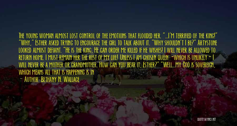 Bethany N. Wallace Quotes 1839336