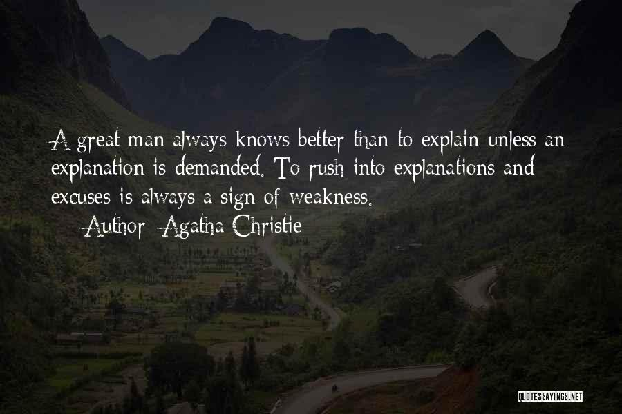 Better Man Quotes By Agatha Christie