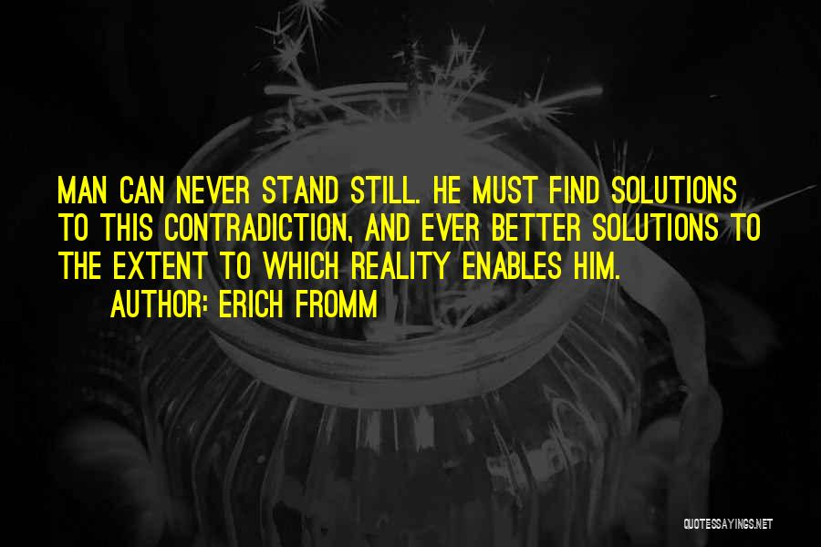 Better Man Quotes By Erich Fromm