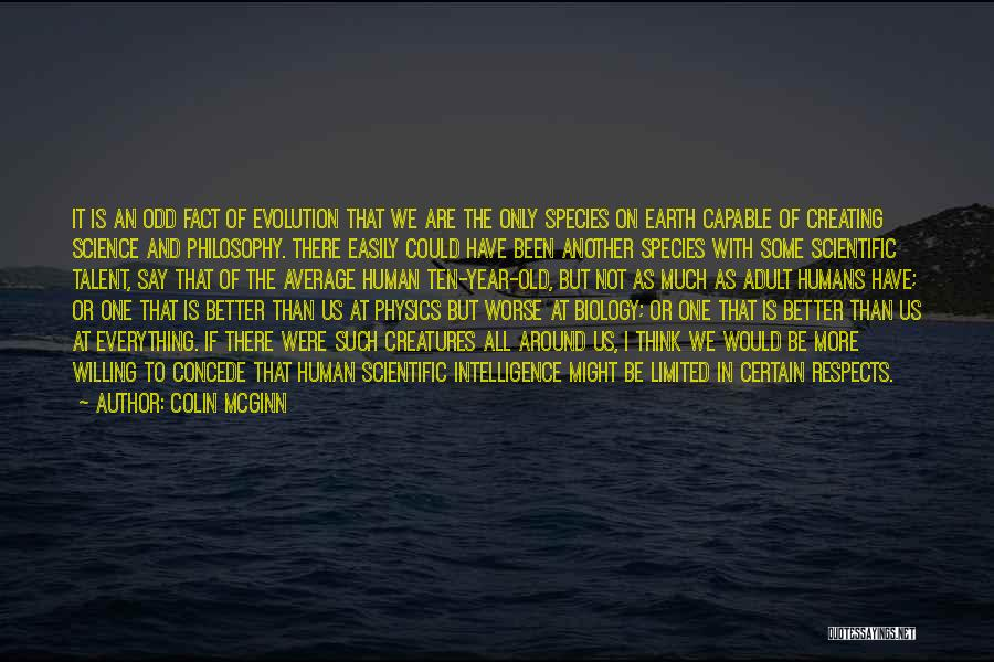 Better Than Average Quotes By Colin McGinn