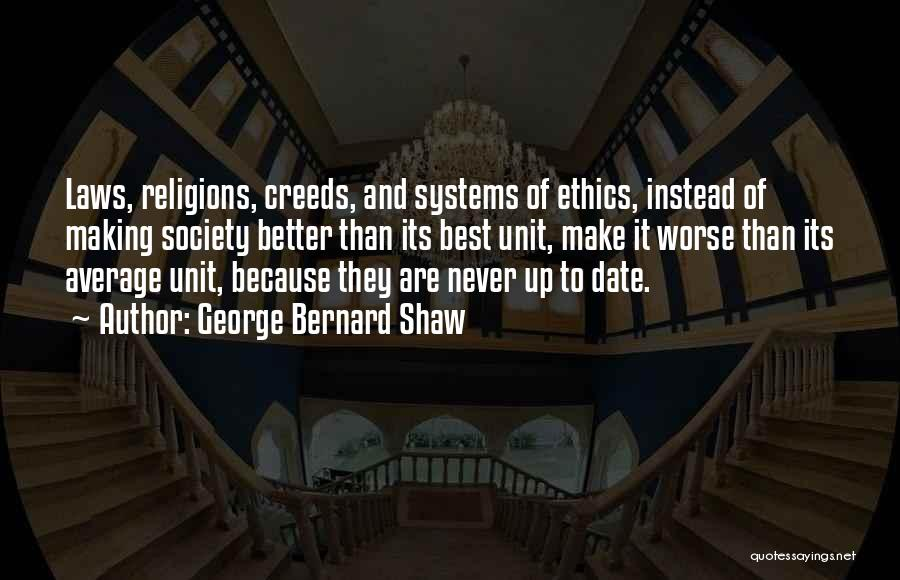 Better Than Average Quotes By George Bernard Shaw