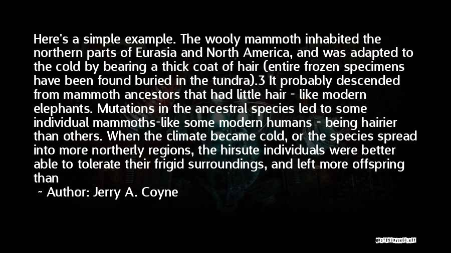 Better Than Average Quotes By Jerry A. Coyne