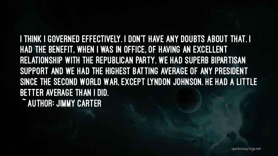 Better Than Average Quotes By Jimmy Carter