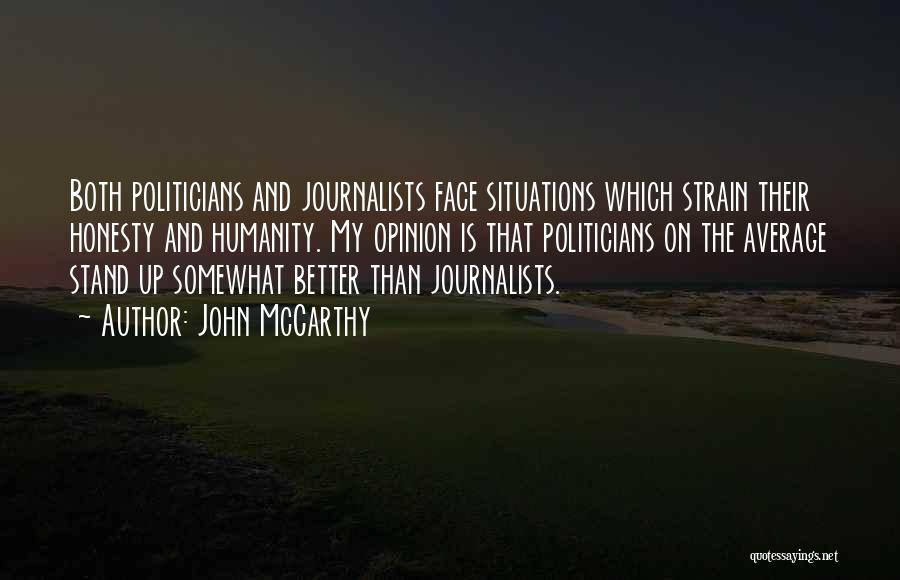 Better Than Average Quotes By John McCarthy