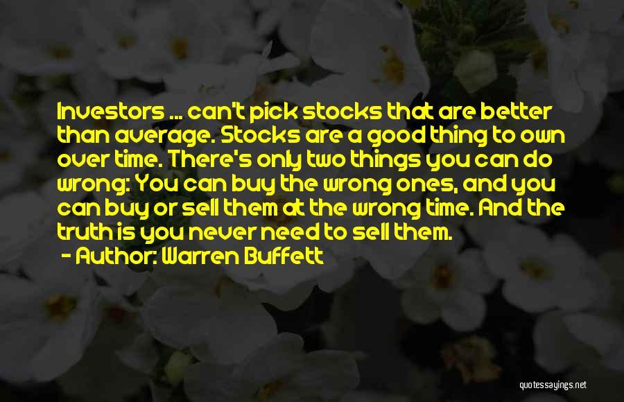 Better Than Average Quotes By Warren Buffett