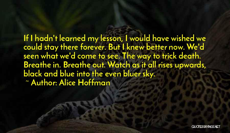 Better Watch Out Quotes By Alice Hoffman