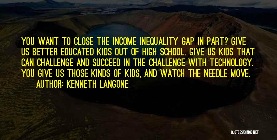 Better Watch Out Quotes By Kenneth Langone