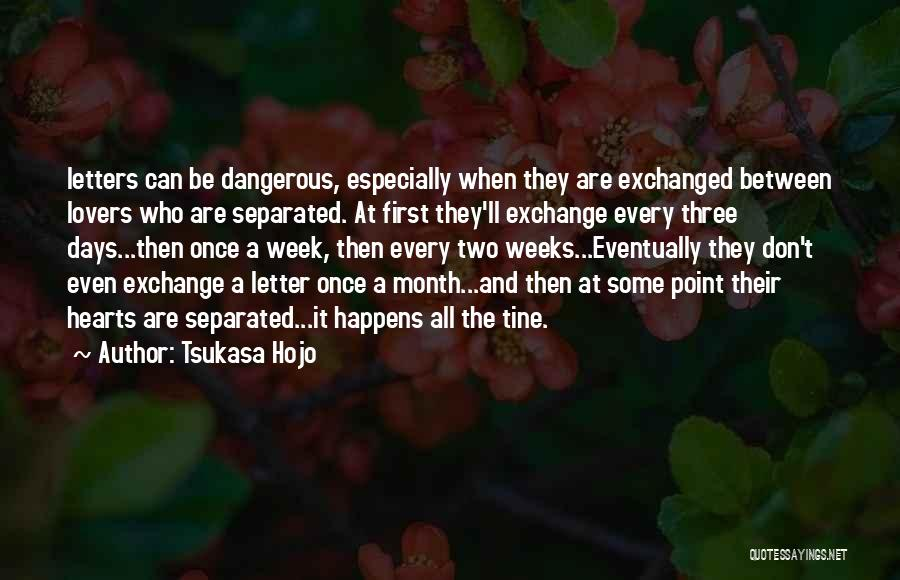 Between Two Lovers Quotes By Tsukasa Hojo