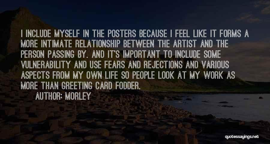 Between You And Me Card Quotes By Morley