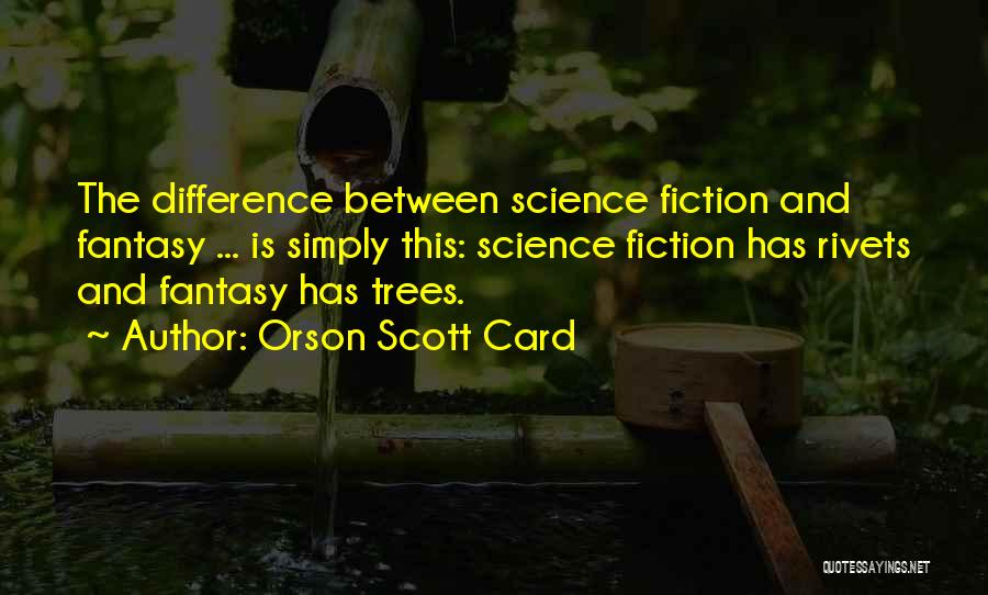 Between You And Me Card Quotes By Orson Scott Card