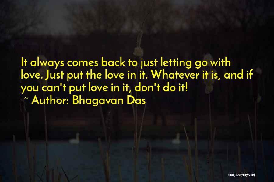 Bhagavan Das Quotes 989007
