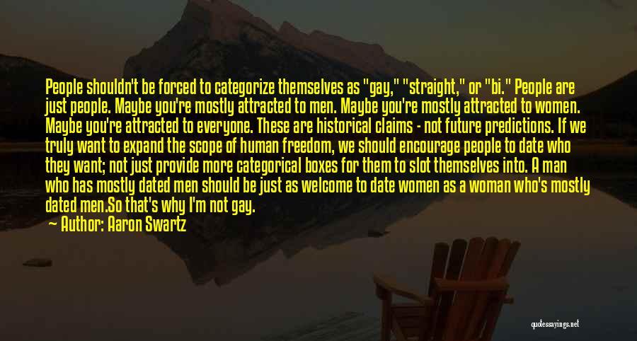 Bi Quotes By Aaron Swartz