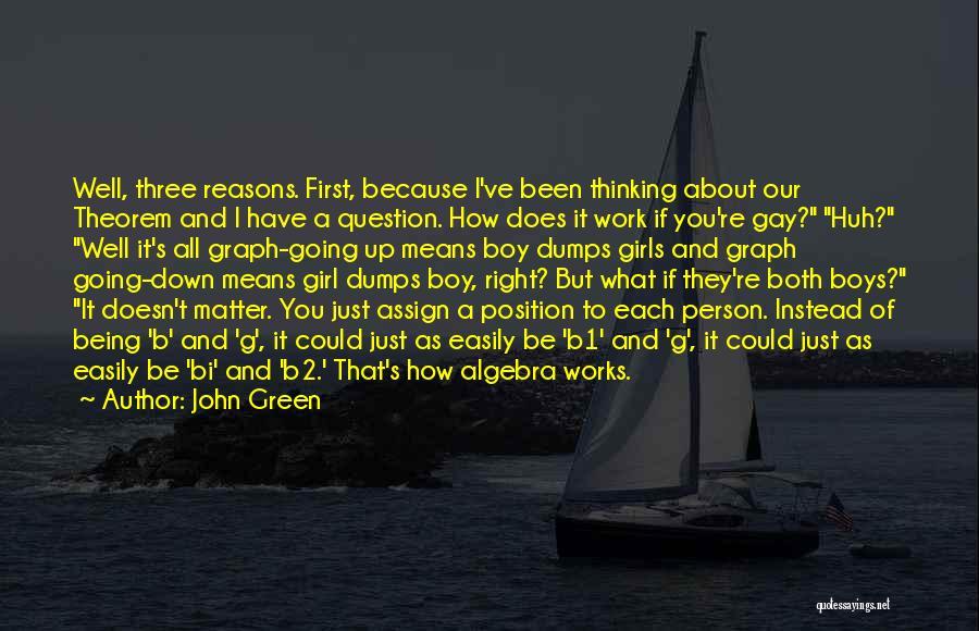 Bi Quotes By John Green