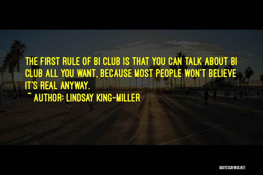 Bi Quotes By Lindsay King-Miller