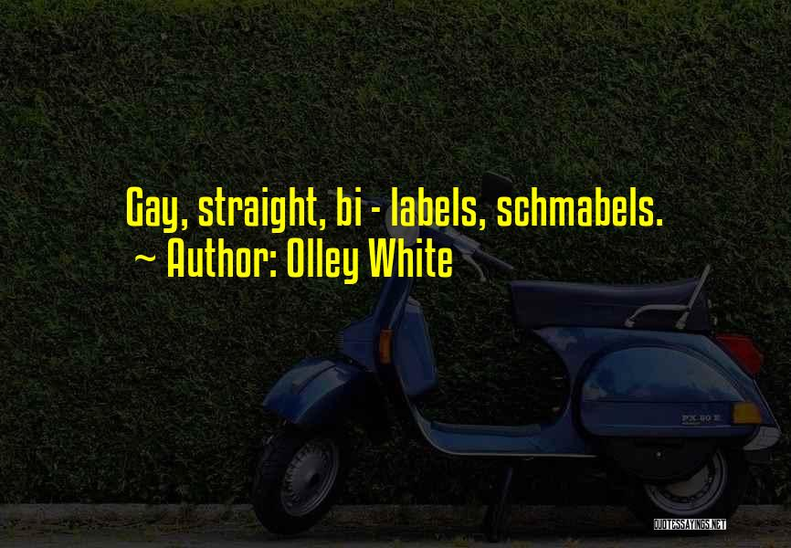 Bi Quotes By Olley White