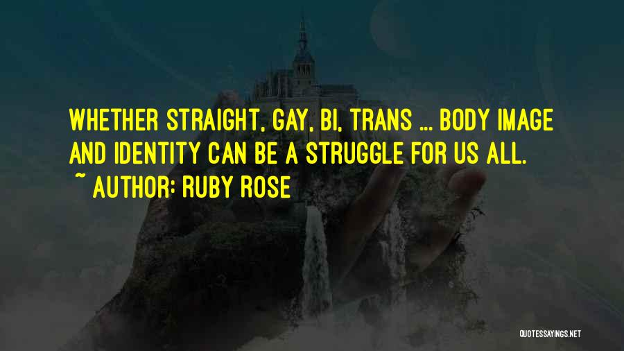 Bi Quotes By Ruby Rose