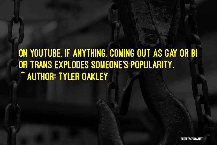 Bi Quotes By Tyler Oakley