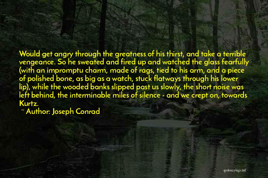 Big Arm Quotes By Joseph Conrad