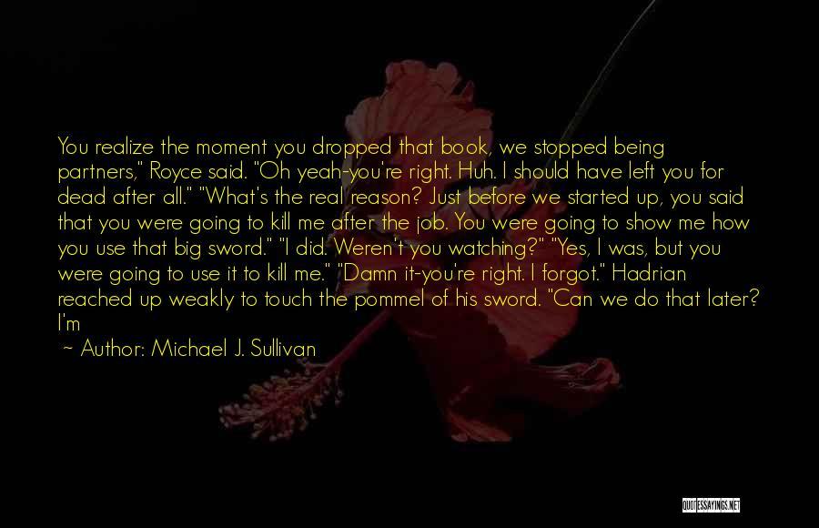 Big Arm Quotes By Michael J. Sullivan