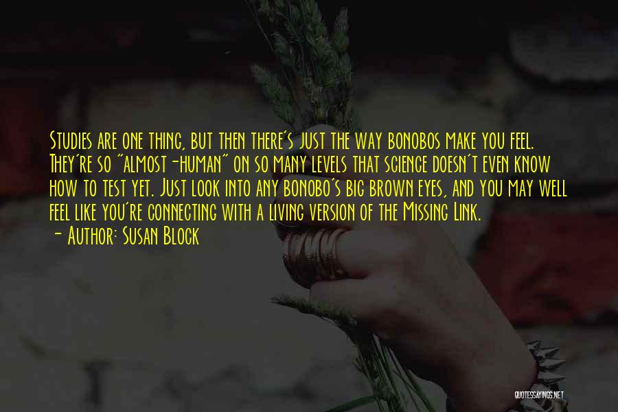 Big Brown Eyes Quotes By Susan Block