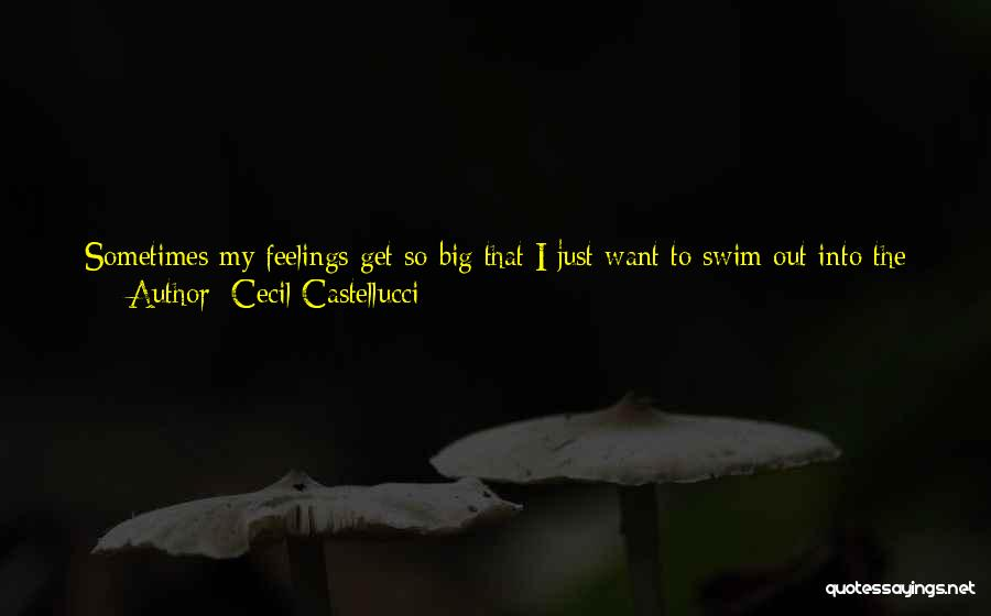 Big Dig Quotes By Cecil Castellucci