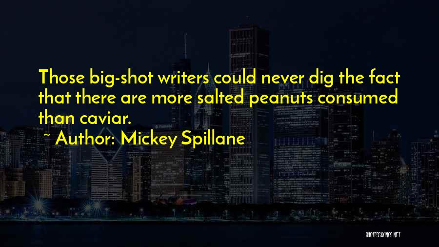 Big Dig Quotes By Mickey Spillane