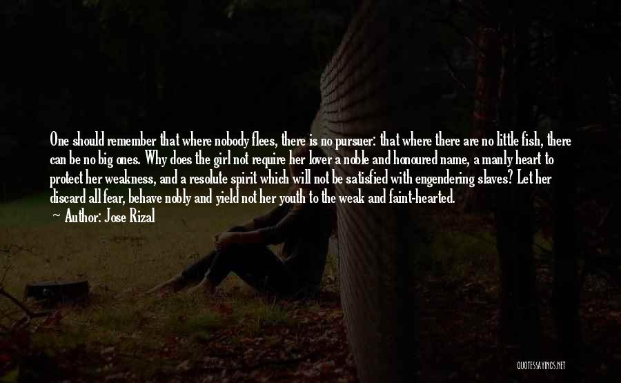 Big Little Love Quotes By Jose Rizal