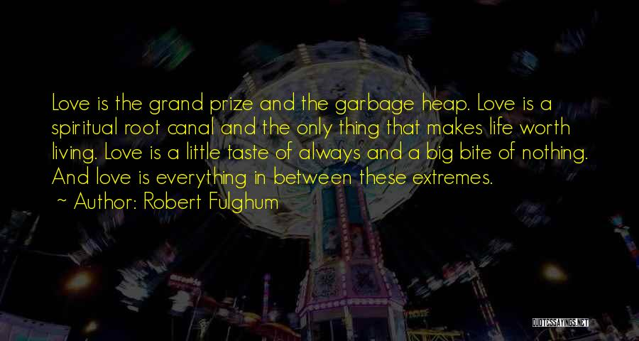 Big Little Love Quotes By Robert Fulghum