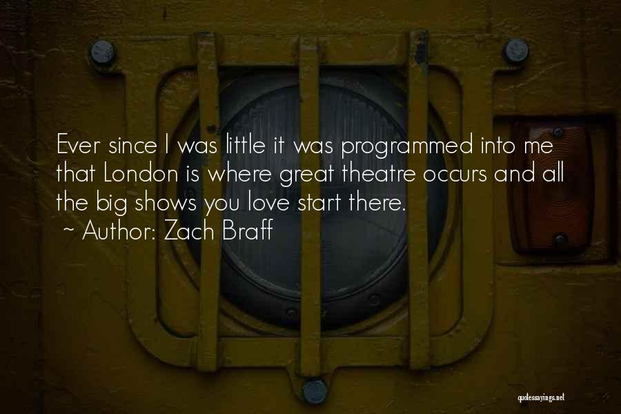 Big Little Love Quotes By Zach Braff