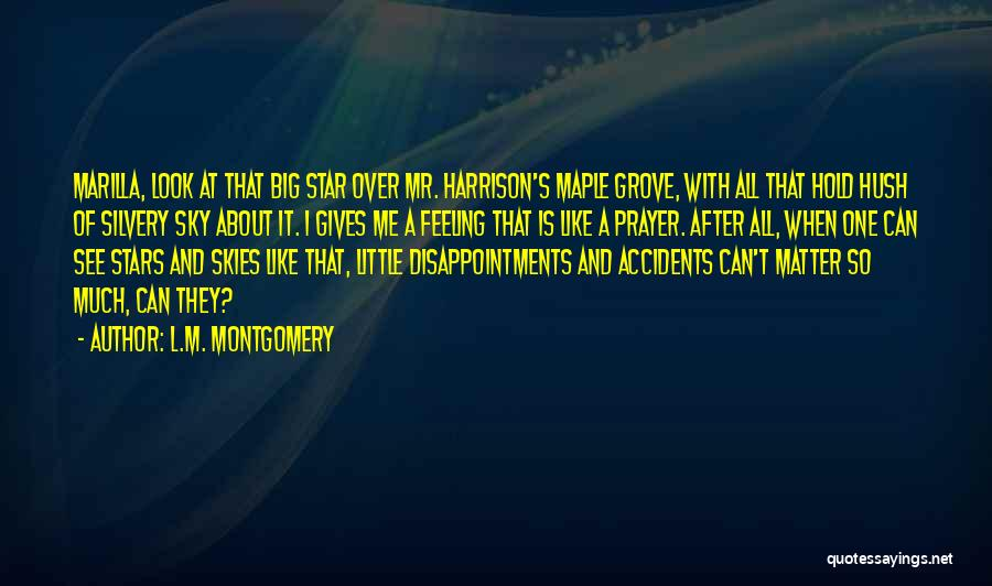 Big Little Star Quotes By L.M. Montgomery