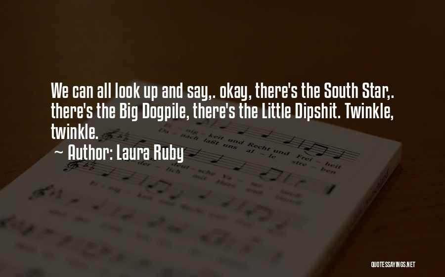 Big Little Star Quotes By Laura Ruby