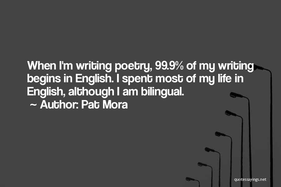 Bilingual Quotes By Pat Mora