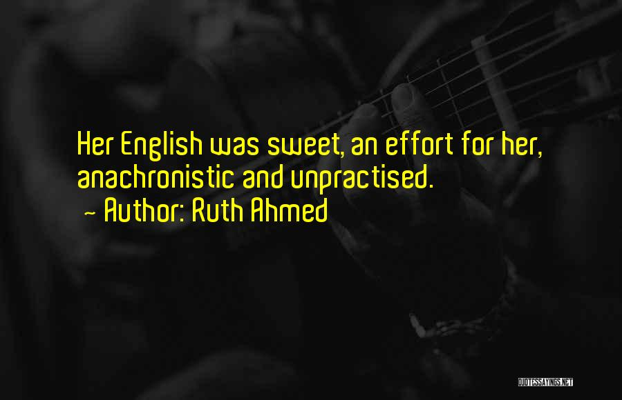 Bilingual Quotes By Ruth Ahmed