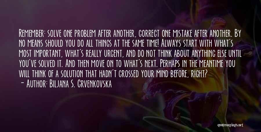 Biljana S. Crvenkovska Quotes 1489777