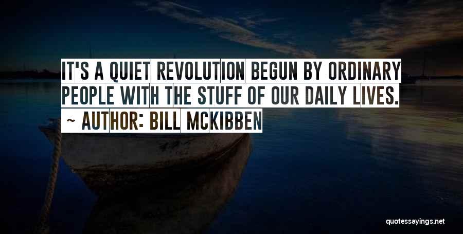 Bill McKibben Quotes 2124281