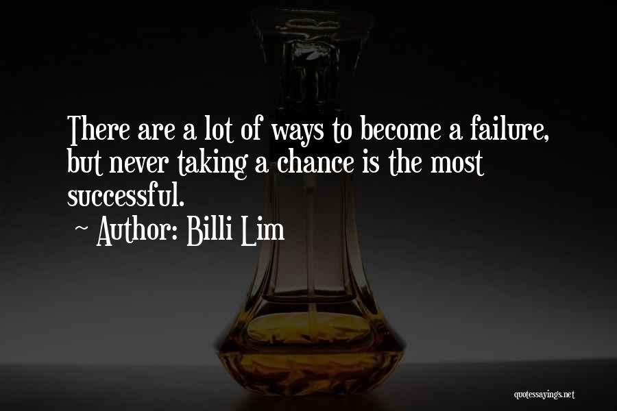 Billi Lim Quotes 2006787