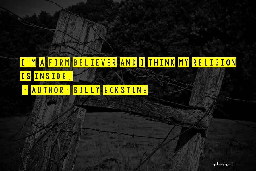Billy Eckstine Quotes 1169306